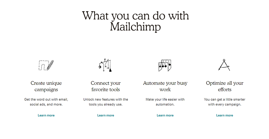 USP Mailchimp